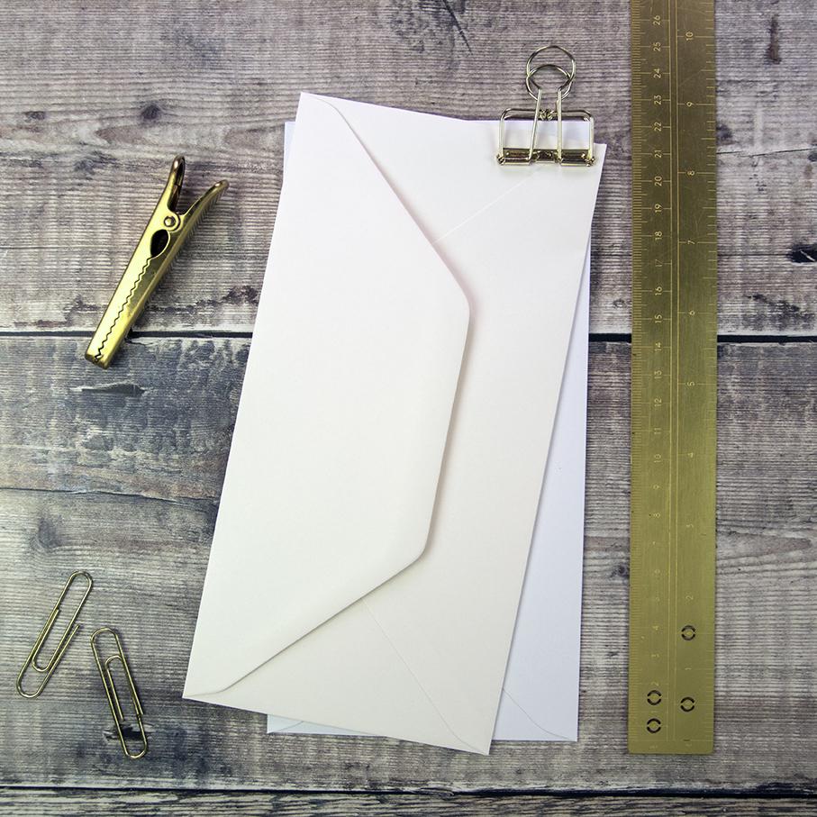 DL Wedding Envelopes.