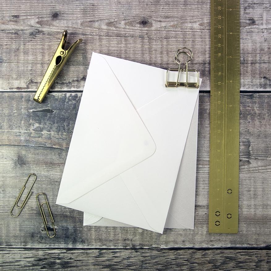 C6 Envelopes for DIY Invitations.
