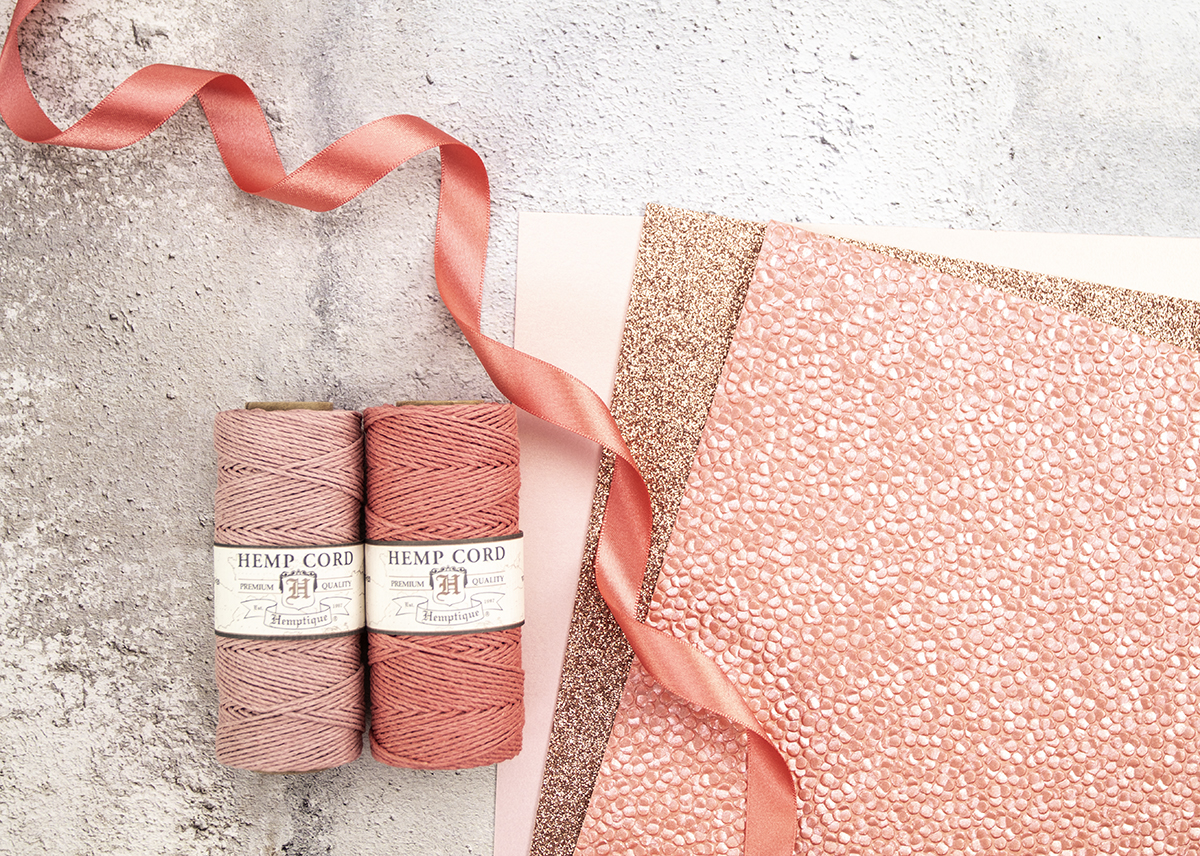 Beautiful coral colour combination for making DIY wedding invitations.