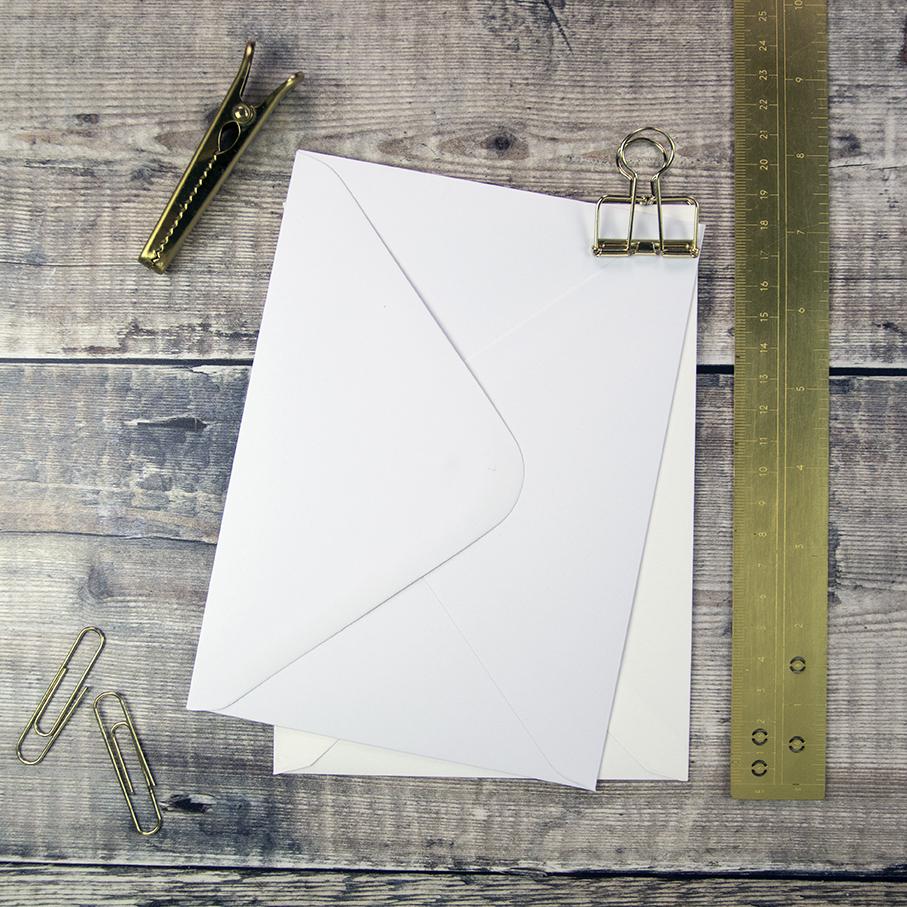 Classic Wedding Envelopes.