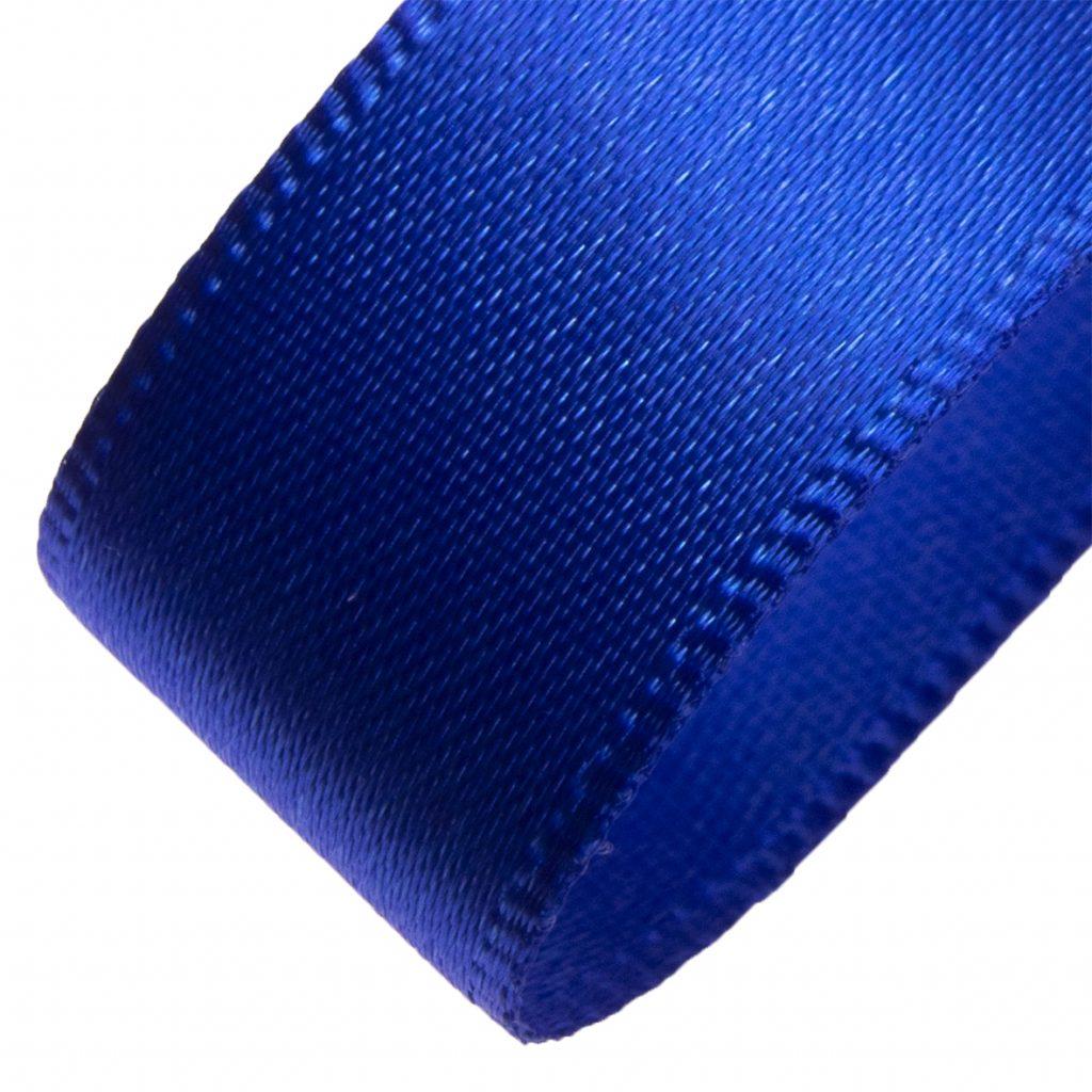 Shindo satin ribbon royal blue.
