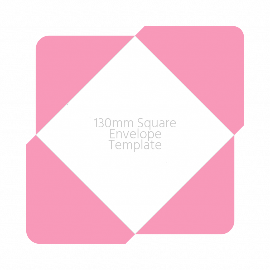 130mm envelope template